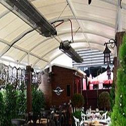 گرمایش فضای باز و رستوران